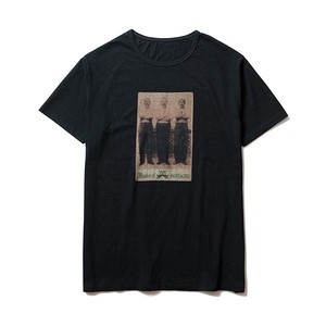 3 MEN PHOTO-T / BLACK