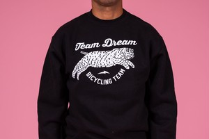 TEAM DREAM BICYCLING TEAM / Chubby Bobcat Heavyweight Sweatshirt / BLACK