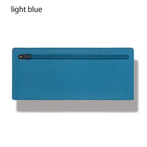 立てて使えるポーチ standing pouch 0921 light blue