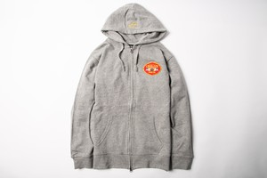 LEGALIZE ZIP UP HOODY (GRAY)