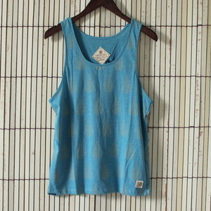 Drops singlet Turquise blue
