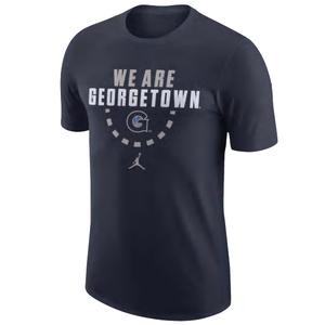 JORDAN (ジョーダン) NIKE College Team Cotton Tシャツ 【Georgetown Hoyas】
