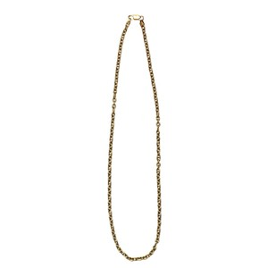 Vintage Italy 18k Gold Chain Necklace