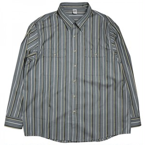 COMFORTABLE REASON / YARD MAN L/S SHIRTS -SMOKEY GREEN-