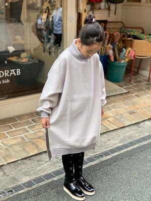 KIDS:nunuforme【ヌヌフォルム】カットハイネックT(グレー/95〜145cm)