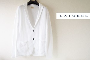 【Sold Out】ラトーレ|GIAK by LATORRE|ニットジャケット|KNIT|MA02/1|M