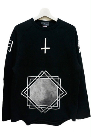 「月蝕」 Sweat (Black)