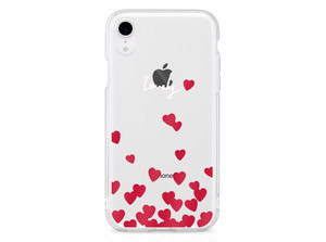 Lovely Hearts  XS XR XSmax X 8 8Plus 7 7Plus 6sPlus 6s SE 5s iPhone ケース
