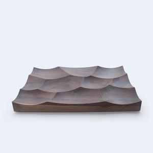 木製テーブルトレイ -Storm Tray L(ウォルナット)