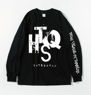 HTSQ  Long Sleeve Tee BLK×WHT