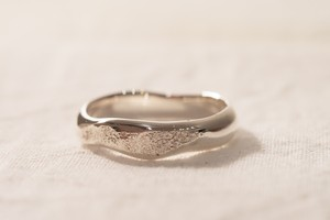 純銀製(Sv9999)yugami+dakon-ring