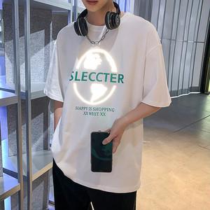 リフレクタープリントTシャツ BL6294