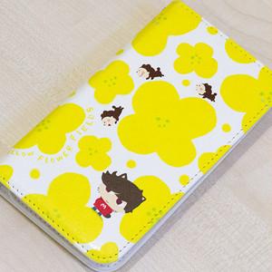 「菜の花畑のニーノ」手帳型スマートフォンケース