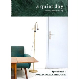 BOOK / ライフスタイルマガジン a quiet day Season6: Summer 2017 July
