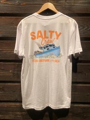 Salty Crew  CRUISER  White  Mサイズ  51-204