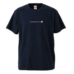 刺繍Tシャツ【HEATHER BLACK】