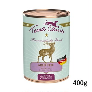 テラカニス【グレインフリー犬用総合栄養食】鹿肉400g