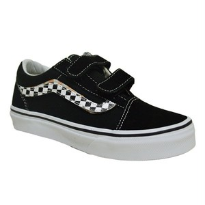 VANS バンズ KIDS Old Skool V (Sidestripe V) Black / True 19cm(実寸20cm)