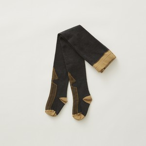 【予約商品 8月納期】eLfinFolk  Abies tights  (charcoal)  M/L elf-212A34 メール便可