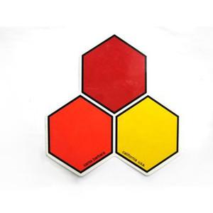 CHANNEL ISLANDS(チャネルアイランズ)ステッカー 正規代理店 クラシック HEXロゴ