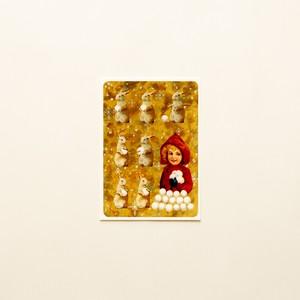 Lumilyhty postcard