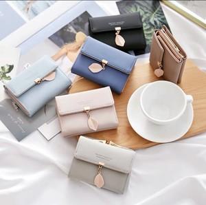 レディースファッション 財布 カードケース 小銭いれ かわいい おしゃれ シンプル カジュアル 小物 折りたたみ財布★02881