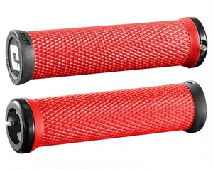 ODI オーディーアイ ELITE MOTION LOCK-ON GRIPS カラー RED