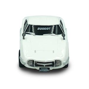トヨタ博物館オリジナルプルバックカー トヨタ 2000GT (白)