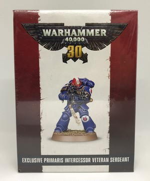 EXCLUSIVE PRIMARIS INTERCESSOR VETERAN SERGEANT (ウォーハンマー40000 30周年記念)