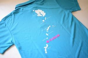 ヨロン島ポロシャツターコイズ