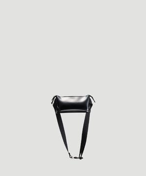 PIENI WAIST Bag Black×Black SZB-32-5023