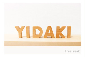YIDAKI イダキの切り文字 SMALL