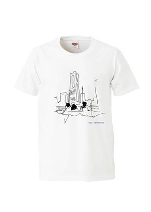 佐藤画伯のランドマークで忘れ物Tシャツ