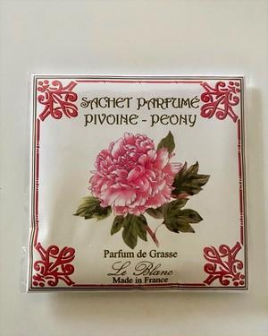 フランス製 サシェ ピオニー フレグランス 香り袋