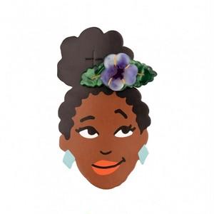 [再入荷] Coucou Suzette Pansy hair clip