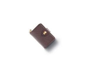 ワイルドボアレザー(猪革) スマートキーケース(Brown)【STY Original】