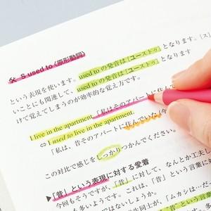 鉛筆の蛍光マーカー