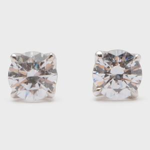 BIJOUPIKO Diamond Pierce  K18WG (ビジュピコ 4点留めダイヤモンドピアス 0.4ct K18ホワイトゴールド)