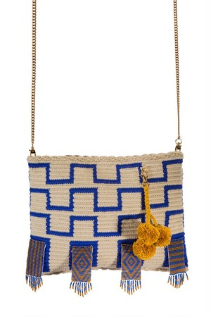 【Pre-order】 ワユーバッグ (Wayuu Bag) With Bead Art G