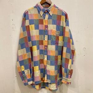 "90's ""J.CREW"" Patchwork B.D Shirts"