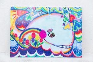 【プリントパネル】Mr.Whale-くじらくん (B2サイズ)