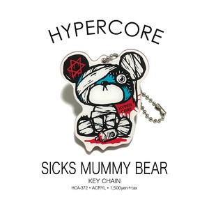 A-372 SICKS MUMMY BEARキーホルダー