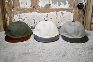 THE UNION /  TWO-TONE YO CAP     ( GRAY / GREEN / IVORY  )