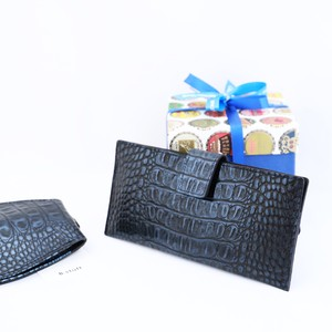 【B.stuff】薄型長財布★限定素材★インディゴ