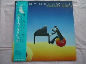 中古レコード 国内盤 LP ボビーコールドウェル オーガストムーン 帯 歌詞 解説付