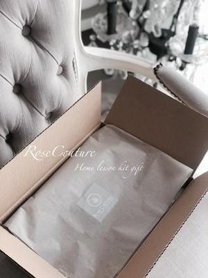 お家時間を楽しもう♡ケーキスタンド付き教材付き動画レッスン♪可愛いリボンケーキが作れます