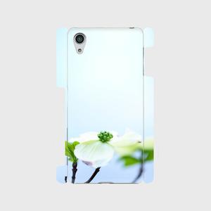 Flowering dogwood ハナミズキ スマートフォンケース