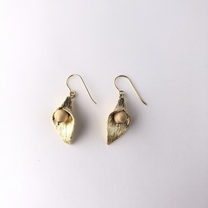 leaf tg pierce earring