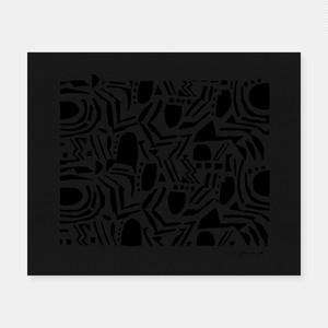 SIWA | 紙和×柚木沙弥郎 SAMIRO YUNOKIM シルクスクリーン作品 04
