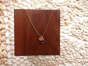 【受注生産】IRENE Accessory Necklace■Star Dust■Amethyst & round